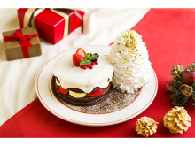 雪が積もったよう!「Eggs 'n Things」が贈るクリスマス限定パンケーキ