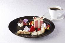 年末のご褒美タイムに♡資生堂パーラー銀座本店に「クリスマス・ガーデン」がテーマのパフェ&デザートプレートが登場しました♩