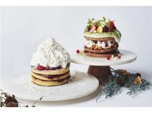 あったかorひんやり?「J.S. PANCAKE CAFE」に心暖まるXmasパンケーキ登場