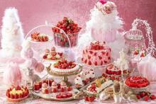 憧れのバレリーナの世界にうっとり♡ヒルトン東京のいちごビュッフェ「ストロベリー・プリマ」がロマンティックすぎる!
