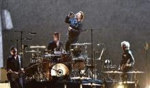 "U2、13年ぶりの来日公演で魅せた『ヨシュア・トゥリー』完全再現 改めて見せつけた唯一無二の""型"""