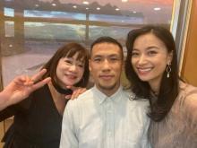 高橋ユウ、美人な実母を公開「ママおめめパッチリ」「お綺麗でかわいい!」