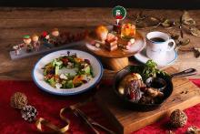 スヌーピーたちと楽しいクリスマスを♡「PEANUTS Cafe 中目黒」などでクリスマス限定メニューがスタート!