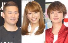 里田まい、夫・田中将大投手とAAAライブ鑑賞「あ~最高だった!」 西島隆弘との3ショットも公開