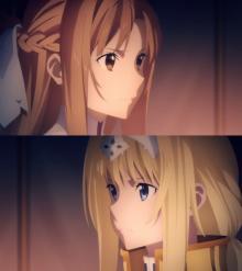 アスナ、キリトめぐりアリスと一触即発! 『SAO』最新章の第10話場面カット公開
