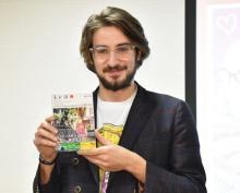 『テラハ』出演のイタリア人漫画家・ペッペ「日本に来て1時間でスカウト」