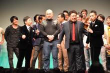 鬼越トマホーク『タイタンライブ』で大暴れ 太田光に毒舌「あんなにスベっている人初めて」