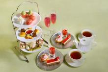 1日15組限定!三菱一号館美術館「Café 1894」いちごが主役のアフタヌーンティーの予約受付がスタートしました♩