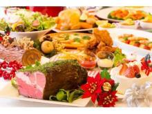 シェフの特別実演あり!全40品を食べつくす「クリスマスディナーブッフェ」