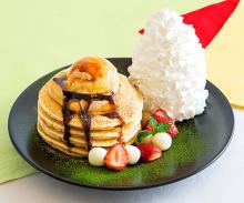 """""""きなこ×黒蜜""""の和風なパンケーキがおいしそう♡年末年始限定メニューが「エッグスンシングス」にお目見え"""
