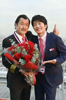 『おっさんずラブ』ラストフライト、田中圭&吉田鋼太郎「今回も最高でした!」