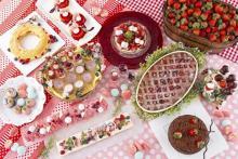 月に1度のお楽しみ♩ダブルツリーbyヒルトン那覇首里城のいちごビュッフェ、1月は「ストロベリーピクニック」がテーマ!