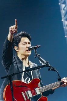 """福山雅治、""""男性限定""""ライブに1万8000人沸く 来年30周年「みんなのおかげ」"""