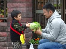 """ラグビー日本代表・田中史朗「父として誇らしい」 息子・真央くん""""はじめてのおつかいに挑戦"""""""