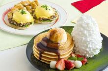 Eggs'n Thingsのお正月!黒蜜きなこパンケーキ&SUKIYAKIベネディクト登場