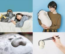 抱っこ牡蠣にゴリラの腕枕…SNSでバズるクッション連発、プランナー語る企画の本質