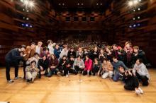 「青山表参道X」クリスマスイベントで奥野壮、飯島寛騎らアカペラ披露
