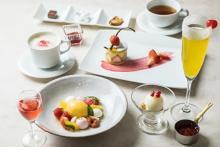 年初めの女子会にもぴったり♡イチゴのデザート×カクテルのペアリングコースが小田急サザンタワーに登場しました♩