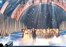 【紅白】中村倫也、大舞台で「ホール・ニュー・ワールド」歌唱 伸びやかな美声で魅了
