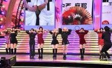 """【紅白】TWICE """"TT兄弟""""から人気曲「TT」を披露"""