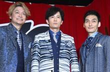【ガキ使大みそか】稲垣・草なぎ・香取、3人そろって登場 CM曲で感謝「ガキ出て満足!」