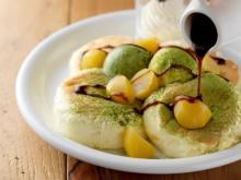 「ドレモルタオ」1月限定メニューは苦みと甘みが絶妙な宇治抹茶パンケーキ