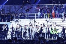 EXILE、三代目、MIYAVIら71人が続々 LDH初のカウントダウンライブに8万人熱狂