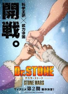 "TVアニメ 「Dr.STONE」:1月4日の""石の日""を記念してスぺシャルビジュアルを公開! 【アニメニュース】"