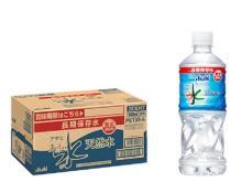 この機会に備蓄用の水を一新! 6年保存可能な「アサヒ おいしい水」が登場