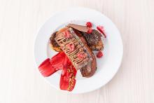 """""""チョコプディング""""を挟んだフレンチトースト!?「サラベス」のバレンタインメニューがおいしそうすぎる…♡"""