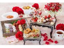 優雅な午後を楽しめる!いちごと薔薇のアフタヌーンティー&ハイティー
