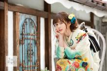 生田絵梨花が着こなす振袖 イメージモデルビジュアル公開