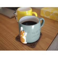 キュートな猫ちゃんマグカップでほっこりカフェタイム