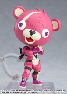 人気ゲーム『フォートナイト』から、 可愛い「ピンクのクマちゃん」がねんどろいどになって登場! 【アニメニュース】