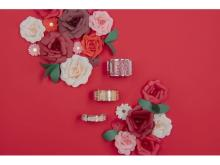 「Les Georgettes by Altesse」からバレンタインの新作アクセサリーが登場