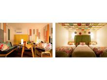 風呂敷をふんだんに使用した「泊まる×体験する」民泊施設が大阪にOPEN!
