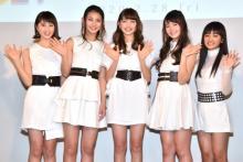 美少女5人組ユニット・821、デビュー会見で飛躍誓う「魅力的な表現者になりたい」