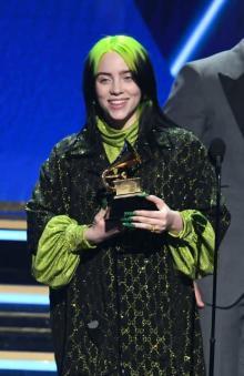 【グラミー賞】ビリー・アイリッシュ、年間最優秀楽曲を受賞
