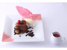温かいチョコソースで味わう「ヴィタメール」バレンタイン限定スイーツ