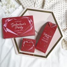 ドレスコードはRED&PINK。ジルスチュアートのバレンタインコレクションの赤に心惹かれるんです♡