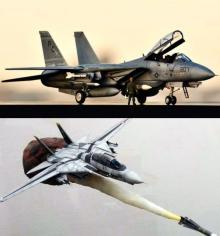 """F-14(トムキャット)は戦闘機の完成系? 普遍的な""""キャラクター性""""が愛され続ける理由"""