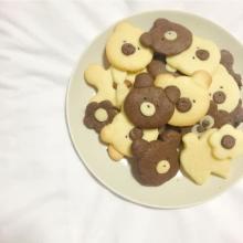 ゆる~い表情の「くまさんクッキー」がインスタグラムで人気♡バレンタインにもぴったりの手作りお菓子です
