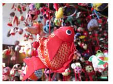 水族館の生き物たちがつるし飾りに変身!「アクアマリンのひな祭り」福島で開催