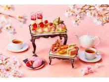 表参道でお花見気分!ストロベリー&桜で春を感じるアフタヌーンティー開催