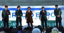 【ラジオエキスポ】石丸幹二&純烈がスペシャルライブ 小田井涼平はバースデーサプライズに感激