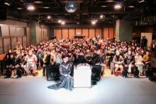 酒井法子、4年連続のバースデーイベント開催 Love Me Doがサプライズで登場
