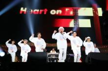 """DA PUMP、7人体制初のアリーナツアー 初披露「Heart on Fire」は""""つり革ダンス"""" ジオウも応援に"""