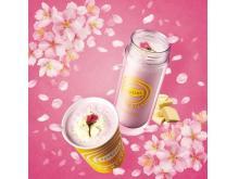 ほんのり甘くてふわふわな口当たり!「Lipton TEA STAND」の春限定メニュー