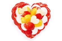 旬のいちご「恋みのり」とマンゴーがどっさり。「カフェコムサ」にホワイトデー限定ケーキがお目見えします!