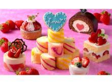 苺スイーツが食べ放題!彩り鮮やかな「ストロベリースイーツブッフェ」開催